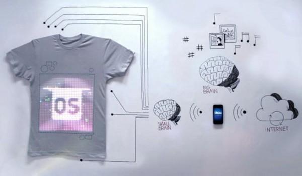 Programmable T-shirt - tshirtOS