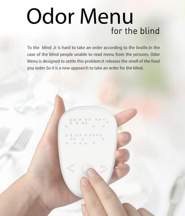 odor menu