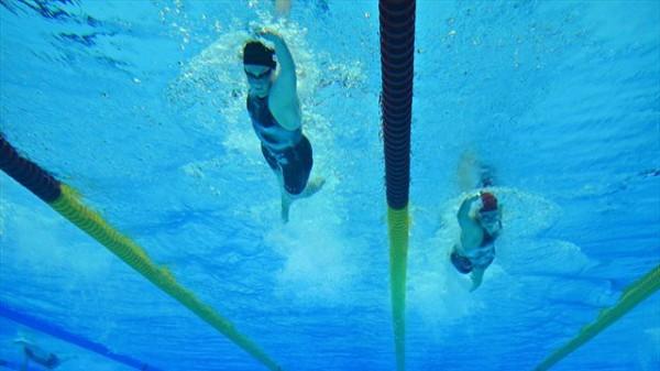 Underwater Olympic Pool Camera