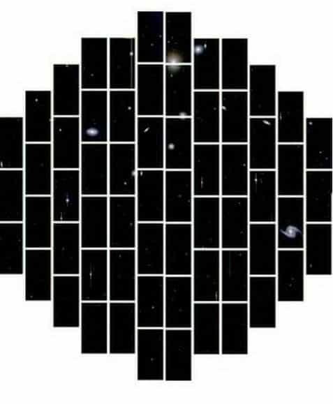 62 CCD Sensor Of Dark Energy Camera
