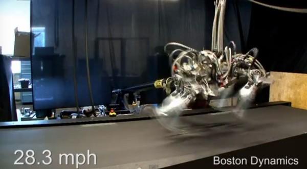 DARPA's Cheetah robot