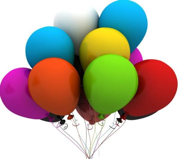 Helium Gas Filled Balloon
