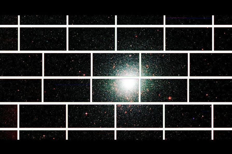 Image Of 47 Tucanae Captured By Dark Energy Camera, Image Credit : lab