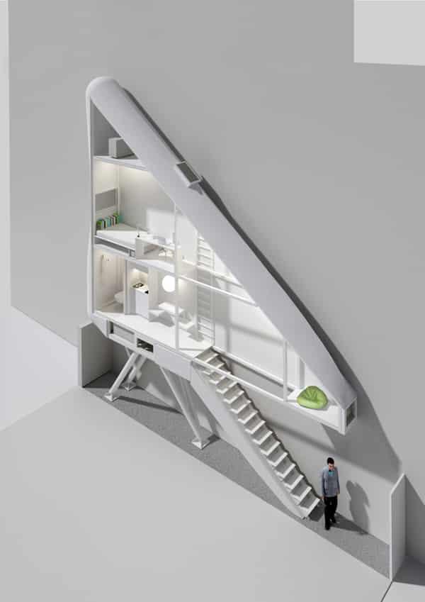 Keret House, Image Credit : Architizer