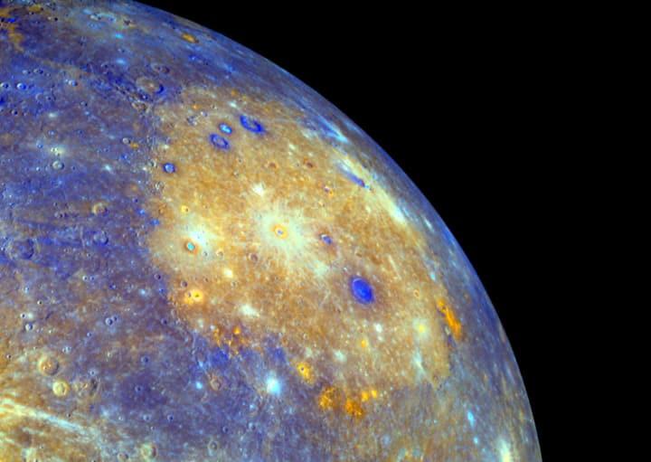 Mercury, Image Credit : NASA