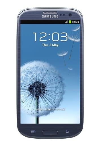 Samsung GALAXY S 3, image credit:samsung.com