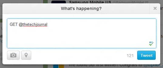 Twitter shortcut to find last tweet