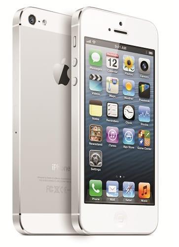 iPhone 5, image credit:apple.com