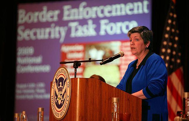 Janet Napolitano/Wikimedia