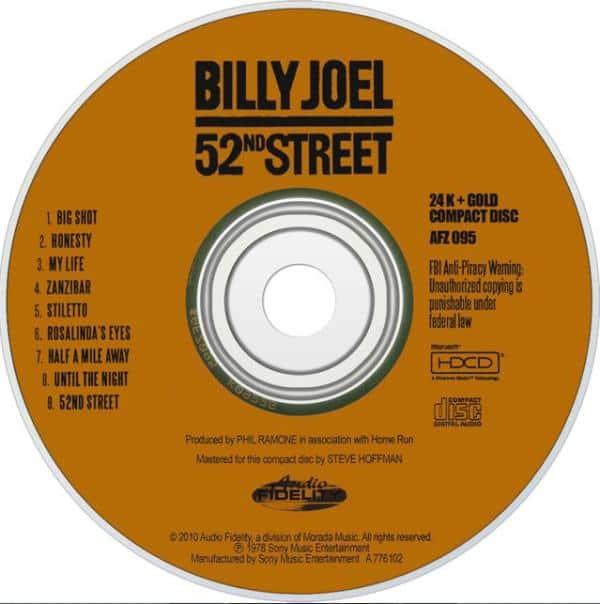 Billy Joel's 52nd Street