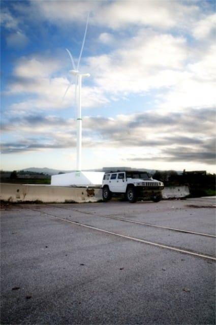 Portable Wind Turbine -5, kljg