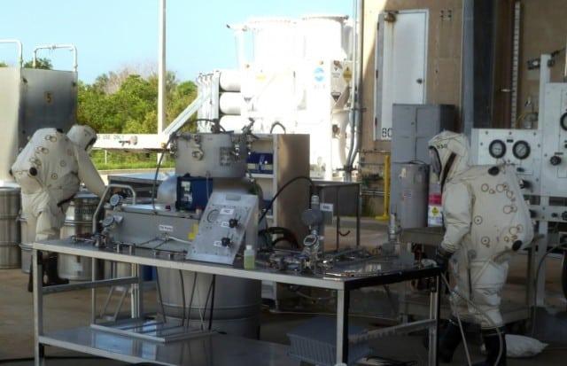 Test Of Satellite Refueling Pump Hardware, jhgjh