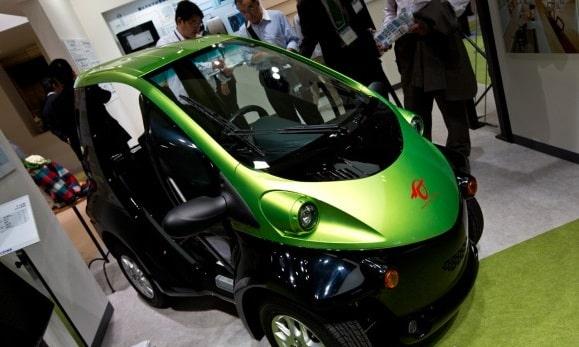 Toyota COMS golf cart/slashgear.com