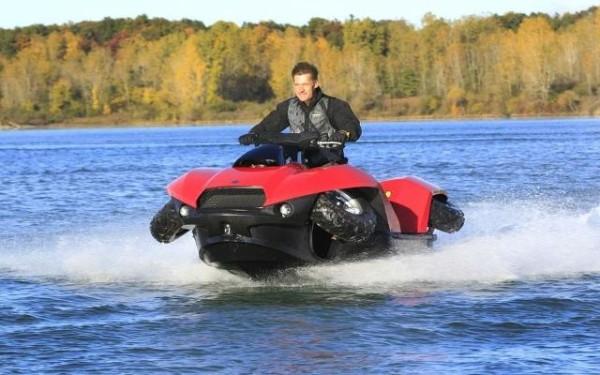 World's First High-Speed Amphibious Vehicle - Quadski