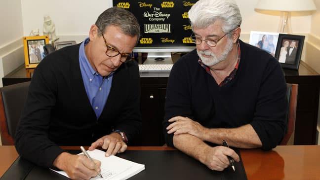 Disney Lucasfilm Deal
