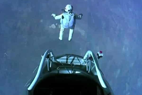 Felux Baumgartner freefall jump