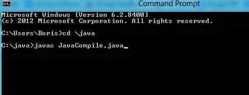 Tutorial How To Compile Java Programs Through Windows ...