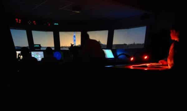 Photo-realistic Bridge Simulator