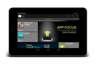 Android app focus