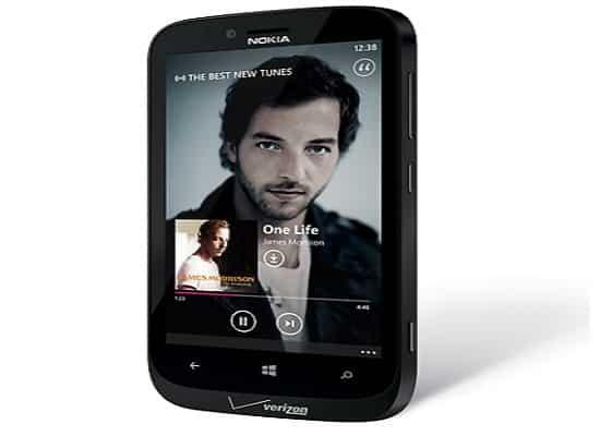 Nokia Lumia 822, image credit:nokia.com