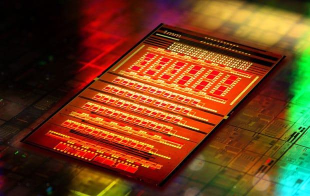 IBM Light-using chip