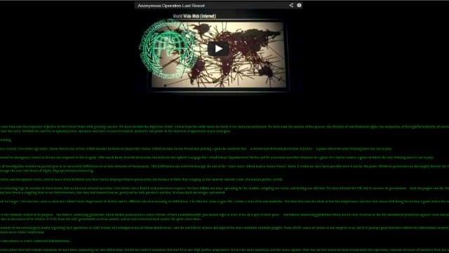 Anonymous Threatens Massive WikiLeaks-Style Exposure ...