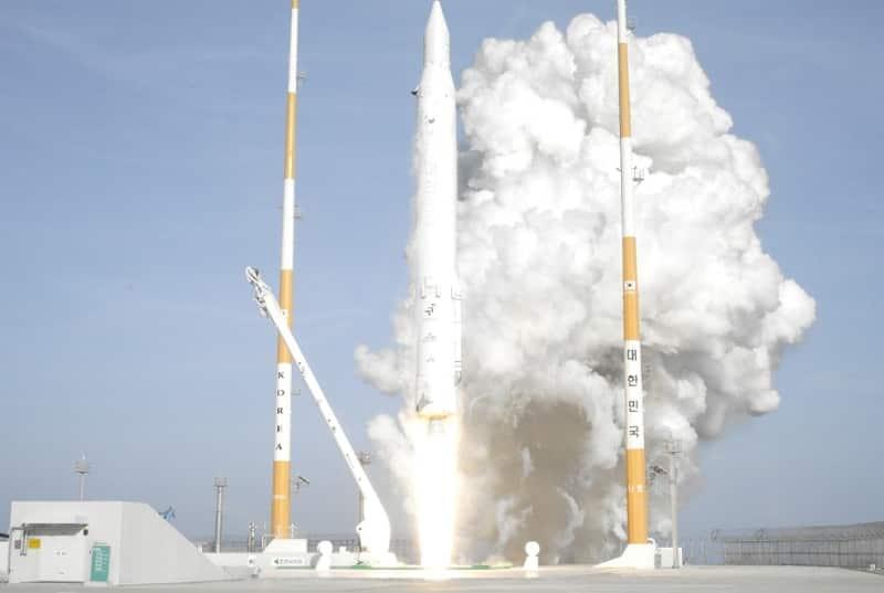 Launch Of South Korea's KSLV-1 Rocket