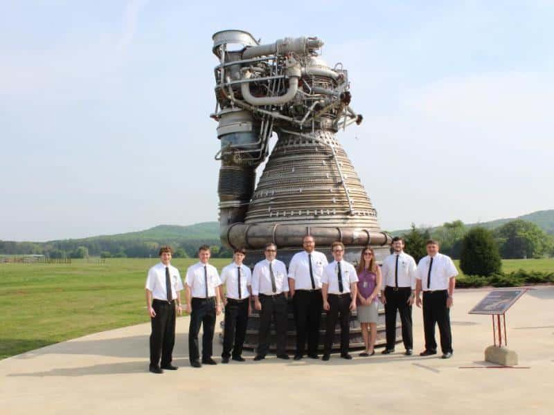 Saturn V F-1 Rocket Engine