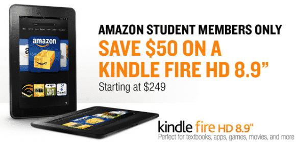 Amazon Student discount
