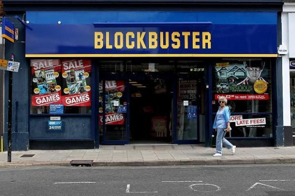 blockbuster store