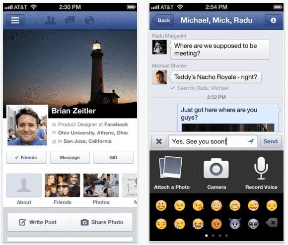 FB iOS App