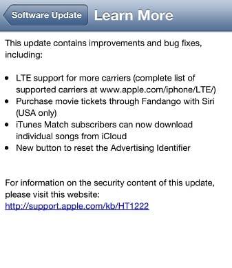 iOS 6.1 U