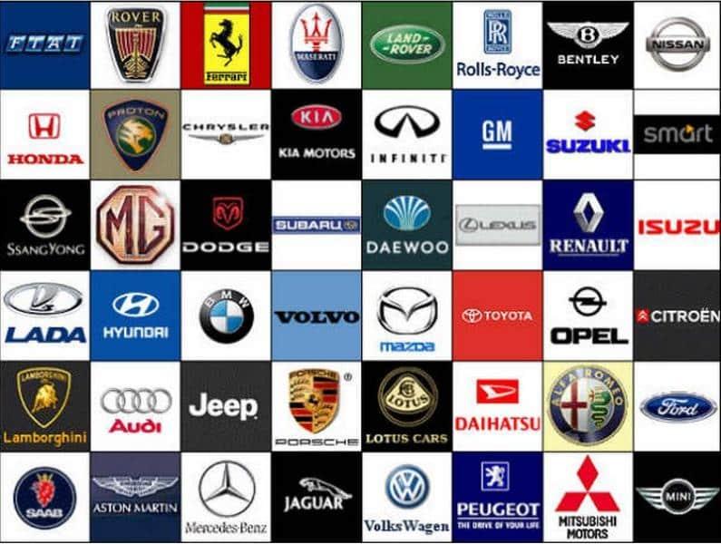 Logo Of Car Companies