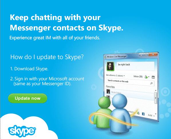 Microsoft Brings MSN Messenger One Step Closer To Skype