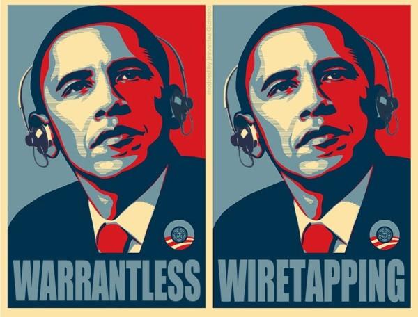 Wiretapping internet