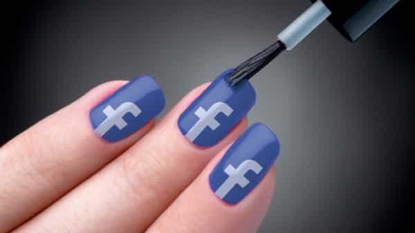 Facebook Nail Polish
