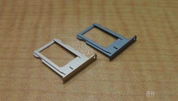 Gunmetal iPhone 5S SIM Tray