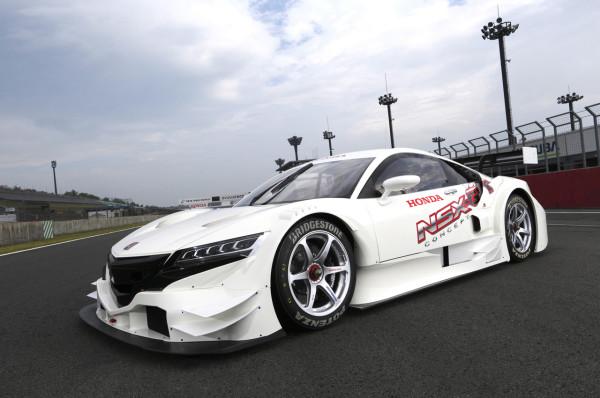 NSX Concept-GT Hybrid Race Car