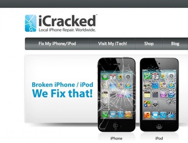 Icracked Iphone S