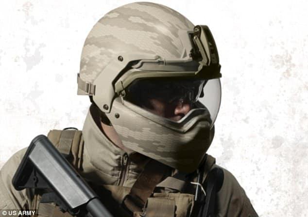 Cutting Edge Halo-Like Helmet