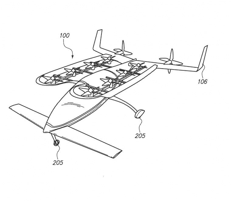Zee.Aero Flying Car Patent - 2