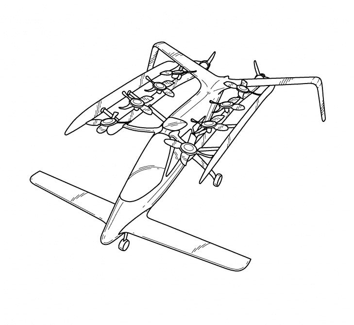 Zee.Aero Flying Car Patent - 4