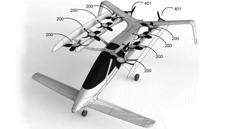 Zee.Aero Flying Car Patent - 5