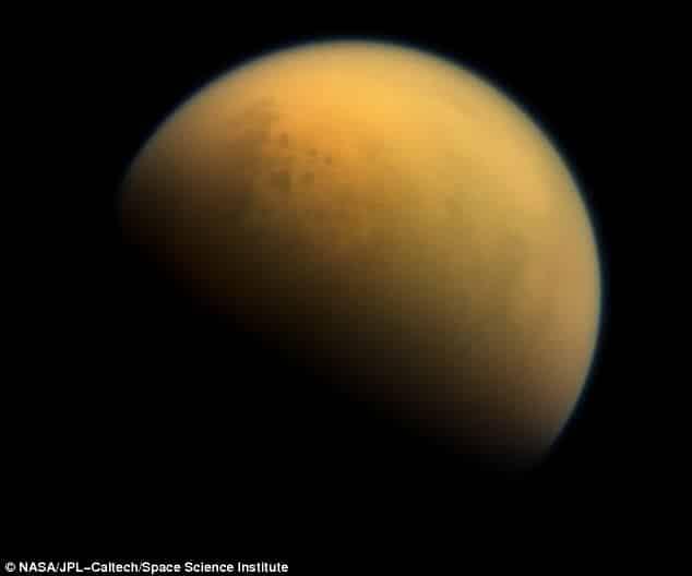 Hazy Atmosphere of Titan