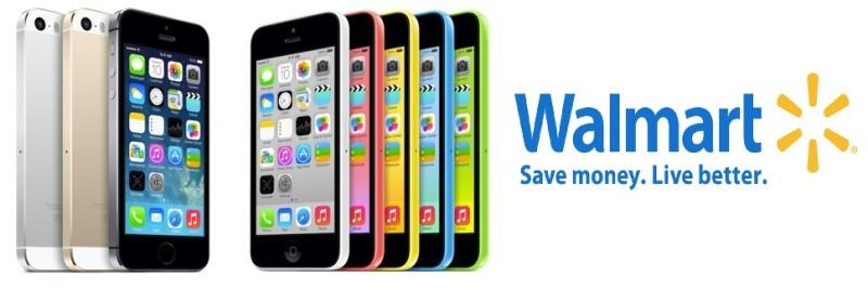 Walmart iPhone 5C And iPhone 5s