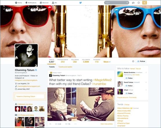 New Design Of Twitter