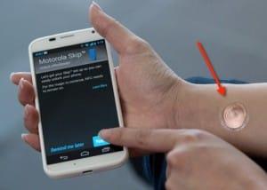 Motorola Unveiled A 'Digital Tattoo' That Can Unlock Moto X Phone