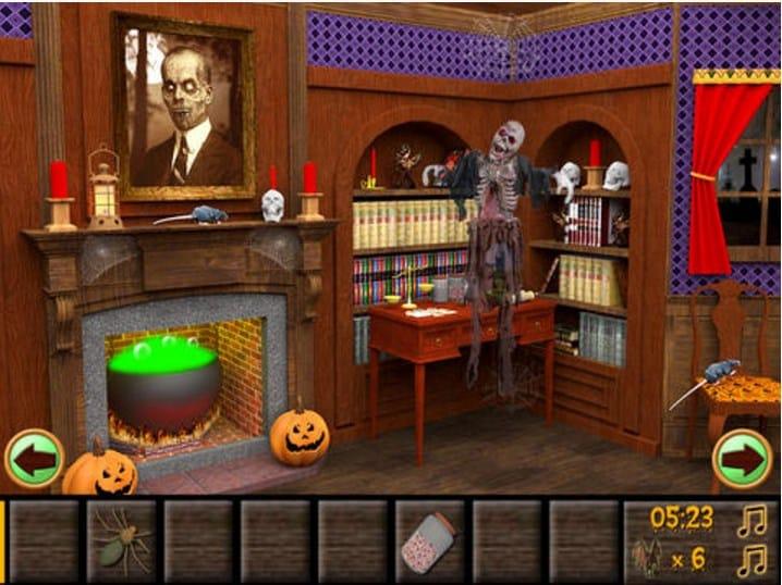 haunted halloween escape