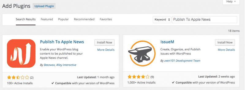 Search WordPress Plugin