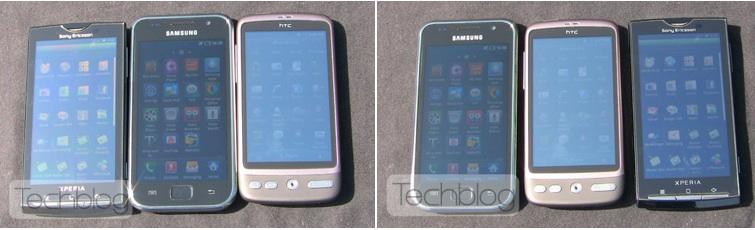 Super AMOLED vs AMOLED vs LCD